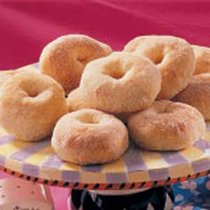 No-Fry Potato Doughnuts Recipe