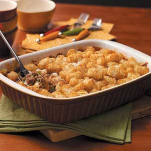 Pizza Tot Casserole Recipe