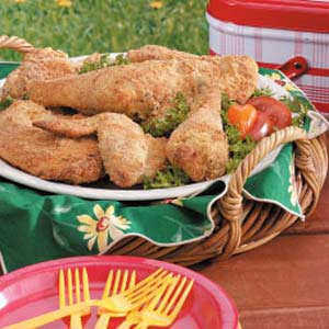 Easy Fried Chicken Recipe