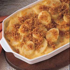 Cheddar Parmesan Potatoes Recipe