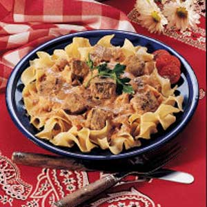 Tender Beef and Noodles Recipe