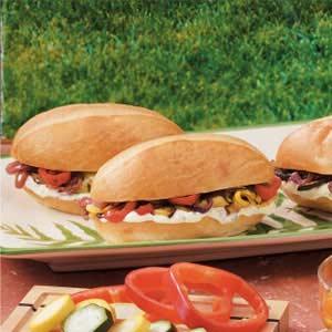 Roasted Veggie Sandwiches Recipe