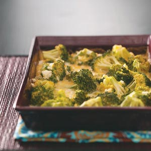 Broccoli Cheese Bake Recipe