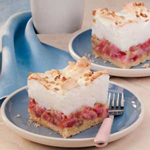 Makeover Rhubarb Shortcake Dessert Recipe