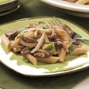 Mushroom Pasta Medley Recipe