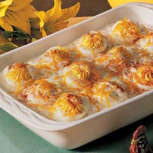 Baked Stuffed Eggs Recipe
