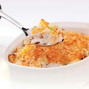 Makeover Hot Chicken Salad Recipe