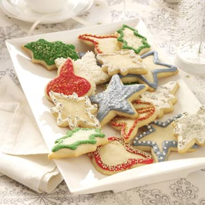 Vanilla-Butter Sugar Cookies Recipe