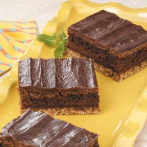 Fudgy Oat Brownies Recipe