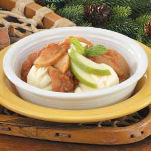 Butterscotch Apple Crisp Recipe