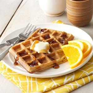 Buttermilk Pumpkin Waffles Recipe