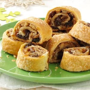 Apricot Raisin Rugalach Recipe