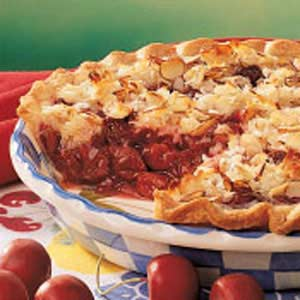 Macaroon Cherry Pie Recipe