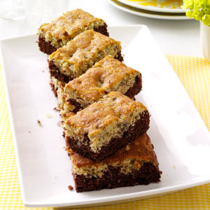 Black-Bottom Banana Bars Recipe