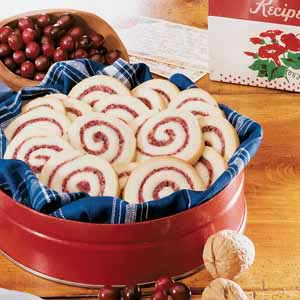 Cranberry Nut Swirls Recipe