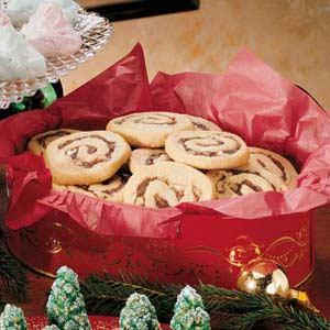 Walnut Date Swirl Cookies Recipe