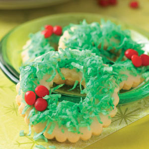 Wreath Cookies Recipe