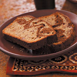 Chocolate Ribbon Banana Loaf Recipe