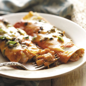 Halibut Enchiladas Recipe