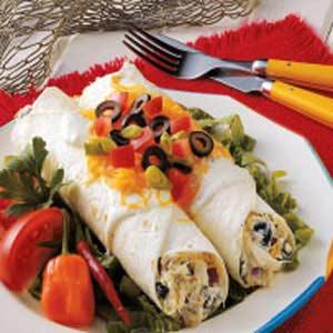 Cheesy Crab Enchiladas Recipe