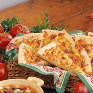 Italian Bread Wedges Recipe