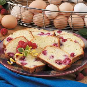 Raspberry Lemon Loaf Recipe