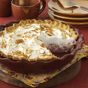 Rhubarb Meringue Pie Recipe