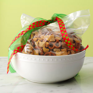 Crunchy Party Mix Recipe