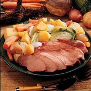 Sunday Boiled Dinner Recipe