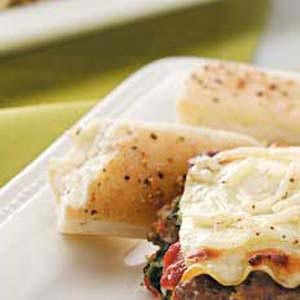 Herbed Soft Breadsticks Recipe