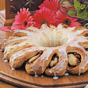 Cinnamon Pecan Ring Recipe