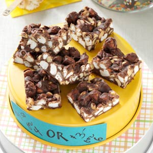 Nana's Rocky Road Fudge Recipe