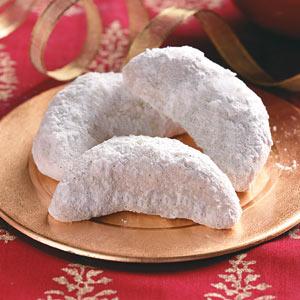 Vanilla Crescent Cookies Recipe