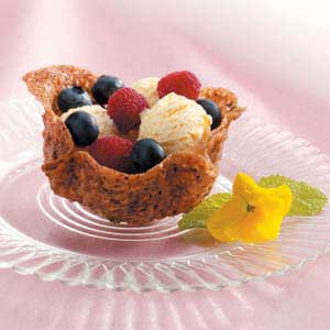 Cookie Fruit Baskets Recipe
