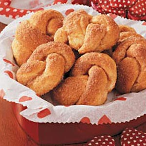 Cinnamon Love Knots Recipe