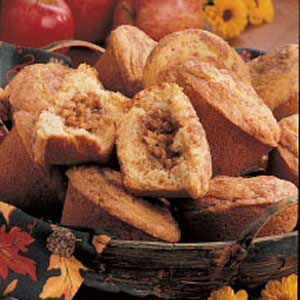 Nutty Apple-Filled Muffins Recipe