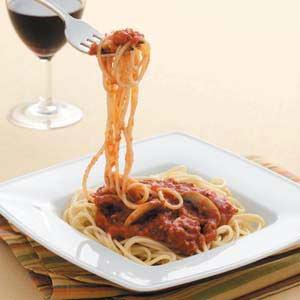 Vegetarian Spaghetti Sauce Recipe