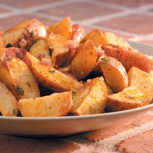 Roasted Cajun Potatoes Recipe