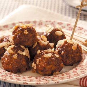 Barbecue Sauce Meatballs Recipe