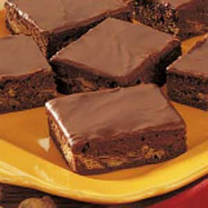 Fudgy Peanut Butter Brownies Recipe