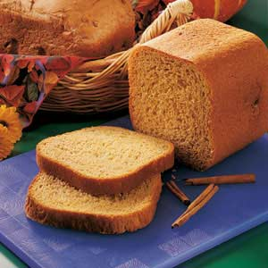 Pumpkin Yeast Bread Recipe