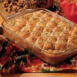 Herbed Oatmeal Pan Bread Recipe