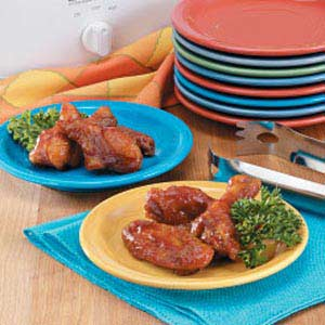 Ginger-Orange Wings Recipe