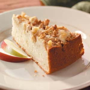 Apple-Topped Cake Recipe