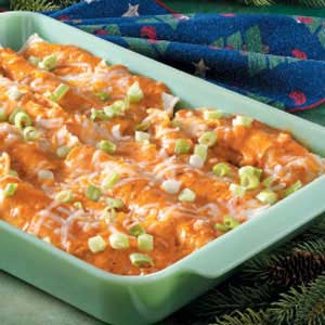 Makeover Chicken Enchiladas Recipe