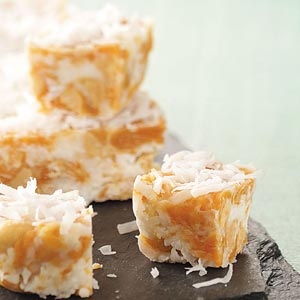 Go Nuts! Coconut Caramels Recipe