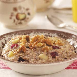 Warm 'n' Fruity Breakfast Cereal Recipe