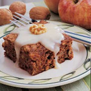 Walnut Apple Cake Recipe
