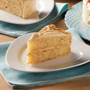 Makeover Peanut Butter Layer Cake Recipe