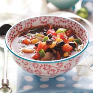 Southwest Bean Soup Recipe